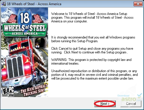 18 wheels of steel across america. Download and play 18 wheels.