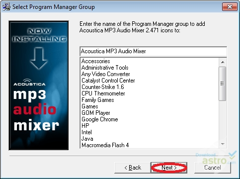 acoustica mp3 audio mixer gratuit