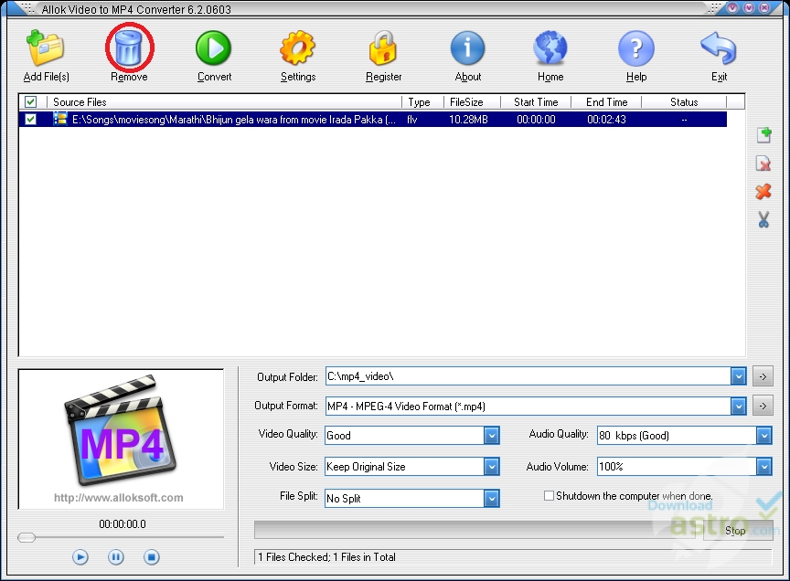 Quick ways to convert mp4 to mpeg/mpeg-1/mpeg-2 effortlessly.