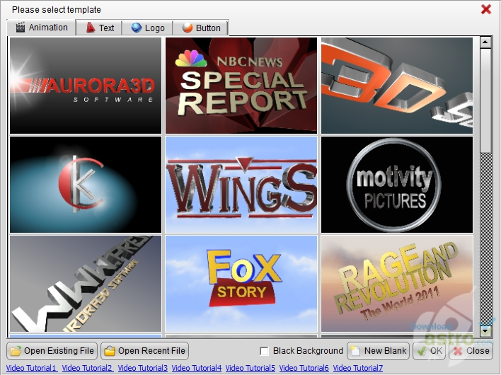 3d movie title maker software free