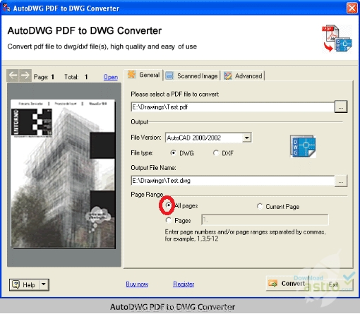 AutoDWG DWG to PDF Converter - latest version 2019 free download