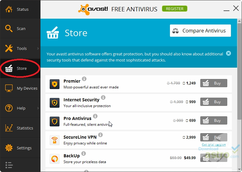 avast vpsupd free download