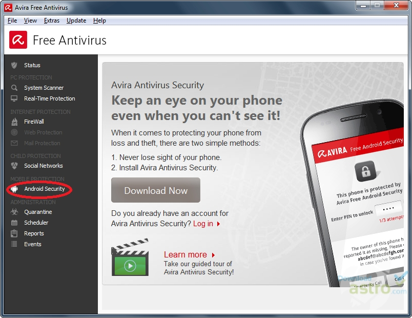 Avira Free Antivirus - latest version 2019 free download