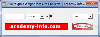 avoirdupois weight measure converter 2018 最新バージョンを無料