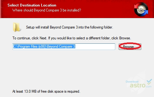 Install Beyond Compare