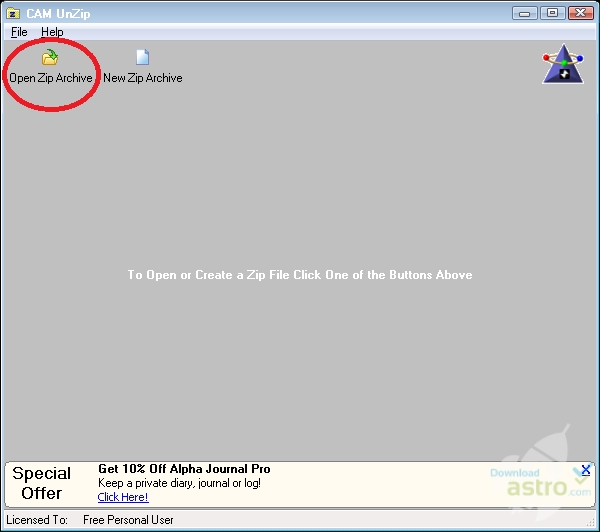 CAM UnZip - latest version 2019 free download