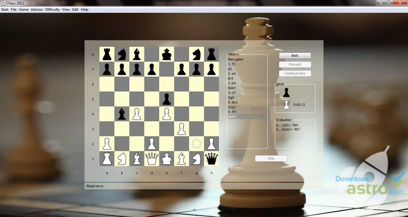 Chess 2012 Free Edition - latest version 2019 free download