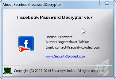 gratuitement facebookpassworddecryptor