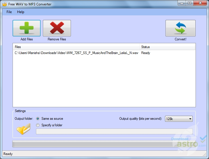 software convert wav to mp3 free download