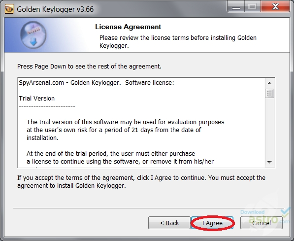golden keylogger 1.32