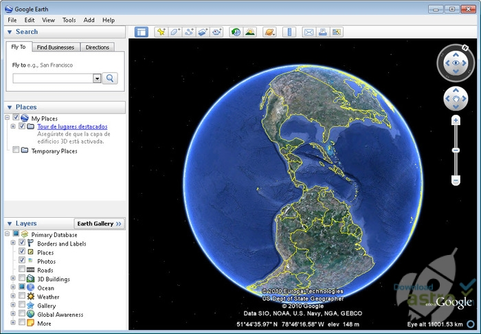 google earth ultima versione in italiano