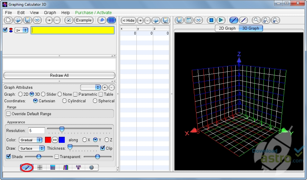 graphing calculator 3d - latest version 2017 free download