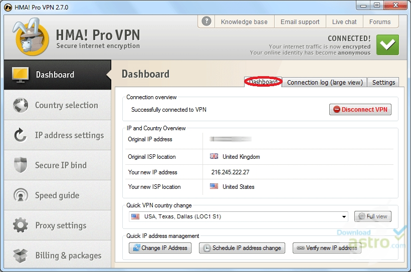download hma for window 7
