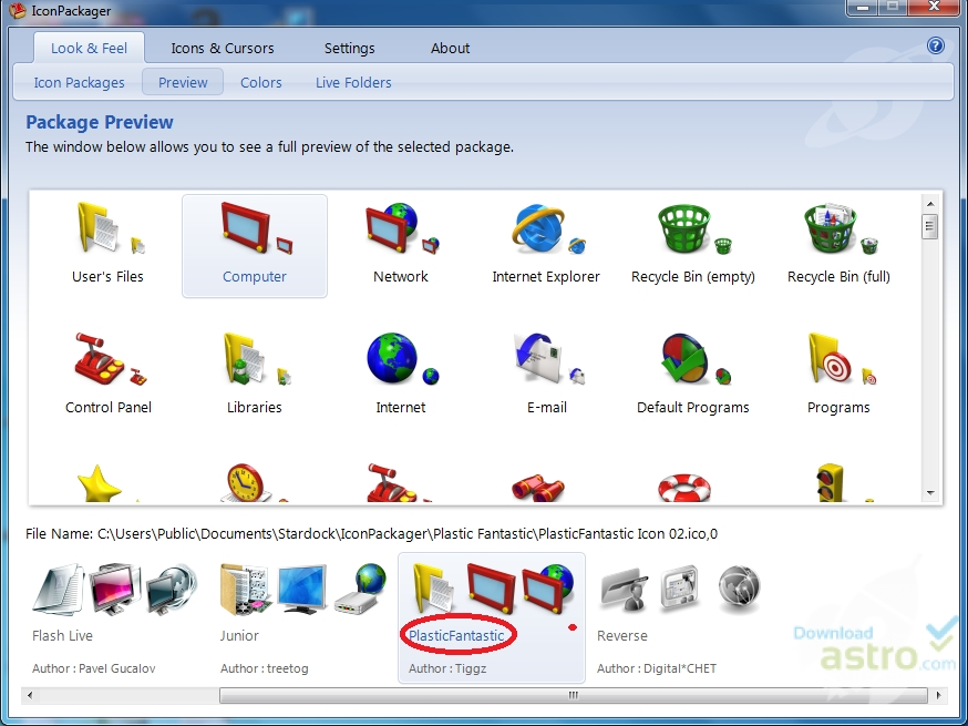 iconpackager_public free