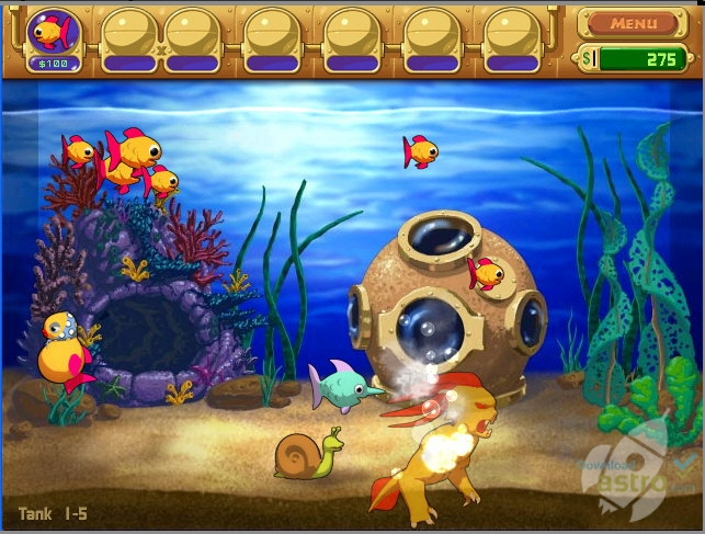 Download insaniquarium free deluxe full version for Feed and grow fish free download full game