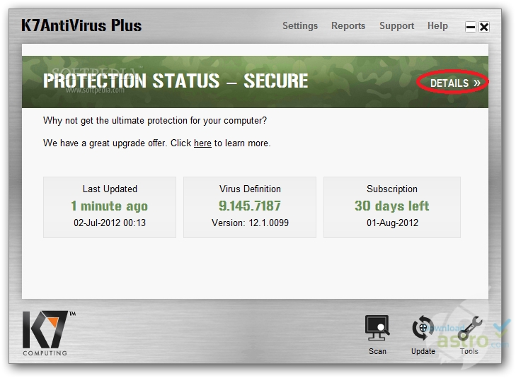 k7 antivirus full version free download for windows 7