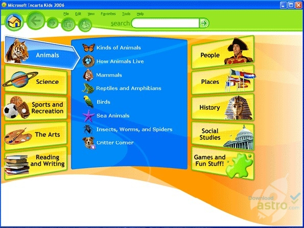 microsoft encarta junior 2010