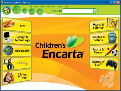 encarta junior 2010