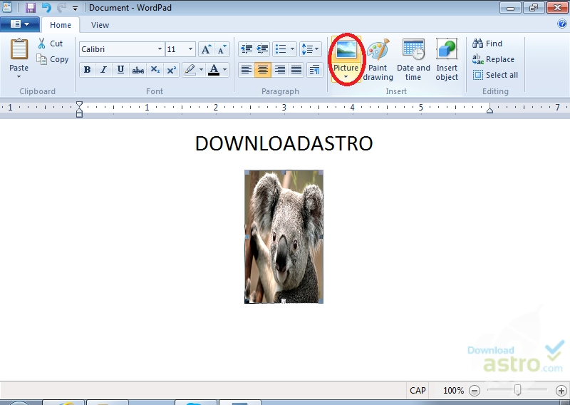 wordpad italiano gratis