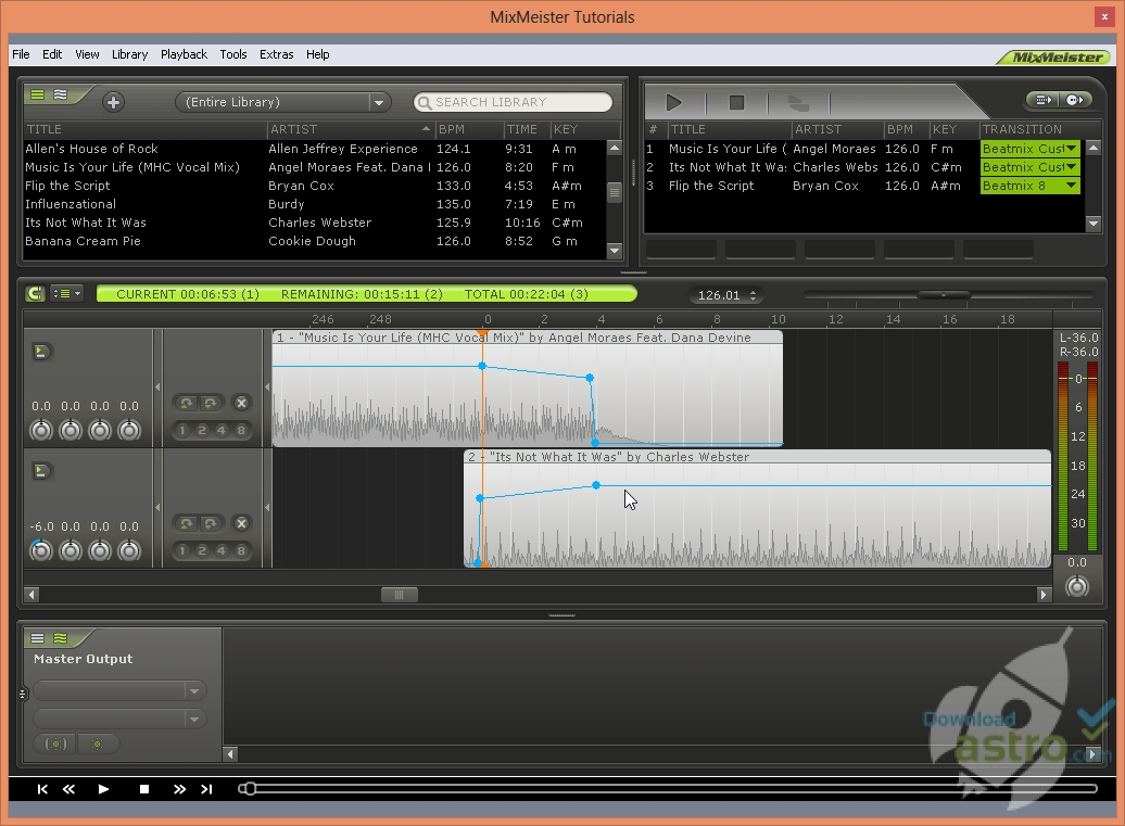 MixMeister Studio NEW Version Now Available for PC & Mac