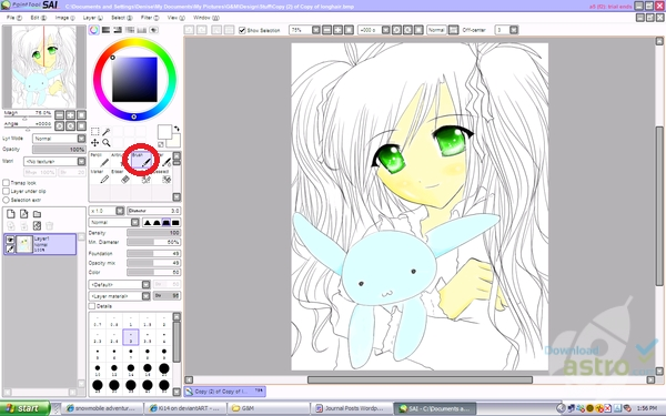 Line Drawing Program : Painttool sai download mais recente versão gratuita