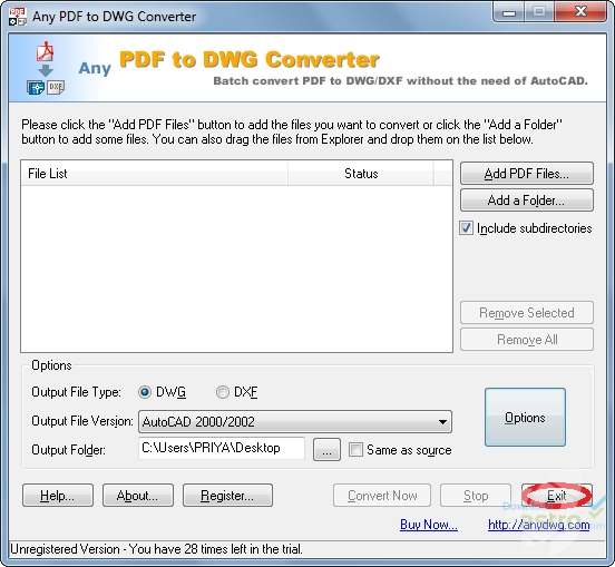 Pdf to cad converter pdf to autocad latest version for Pdf a cad