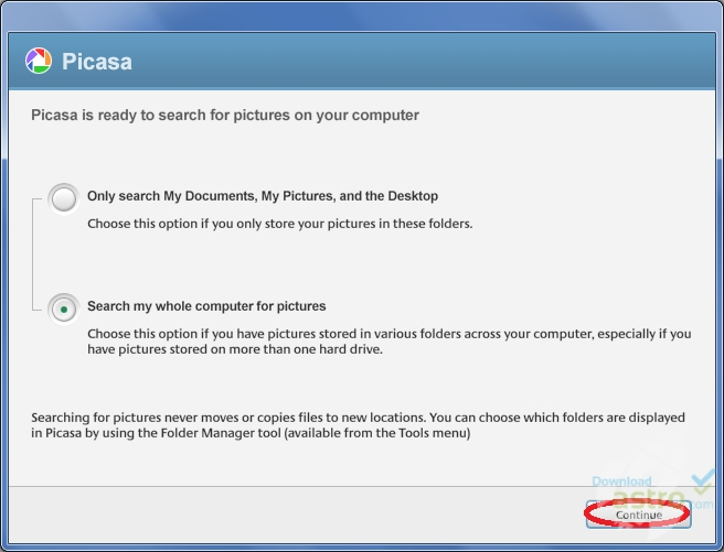 picasa photo google gratuit v.2.7