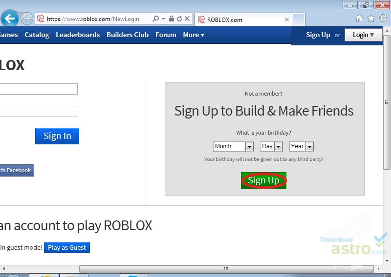 roblox version is out of date