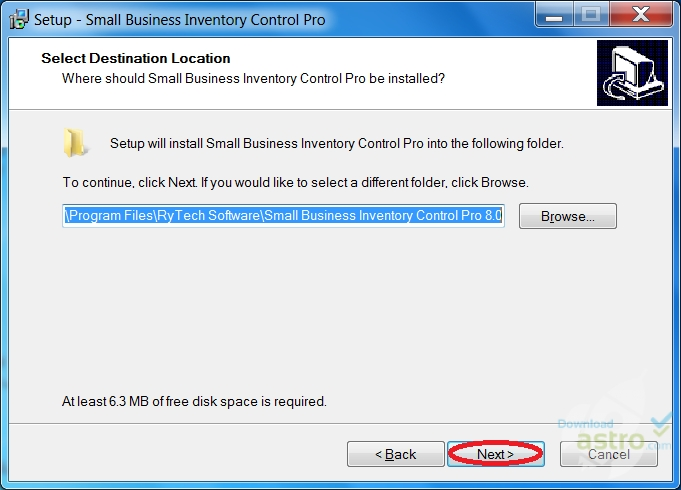 Small Business Inventory Control Pro - latest version 2019