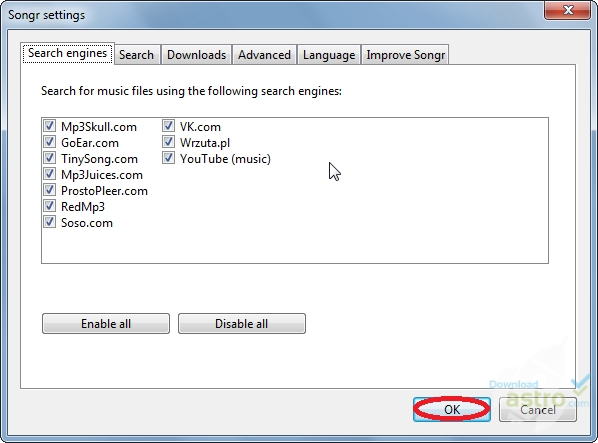 songr gratis in italiano per windows 7