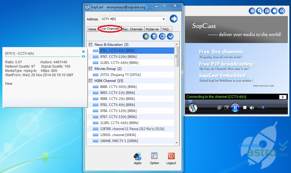 Sopcast - latest version 2019 free download