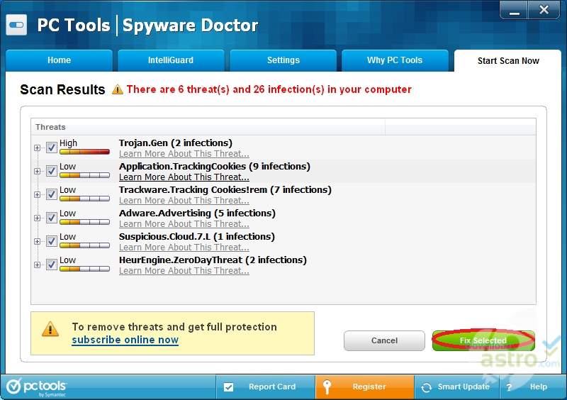 Pc tools spyware doctor 6 | software downloads | techworld.