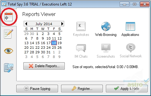 Total Spy - latest version 2019 free download