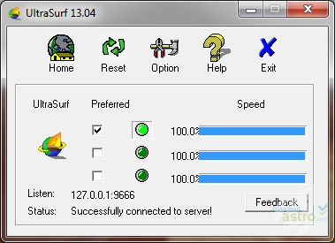 Ultrasurf - latest version 2019 free download