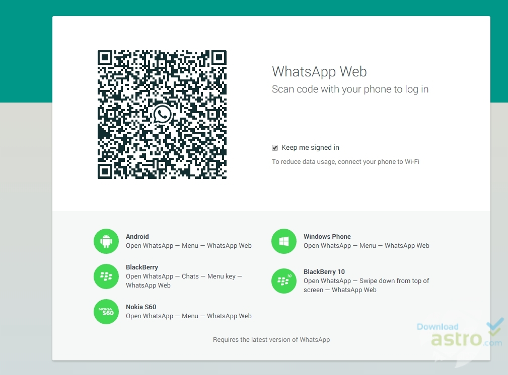 WhatsApp Web App for PC - latest version 2019 free download
