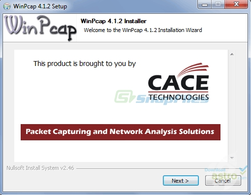 winpcap pour windows 8