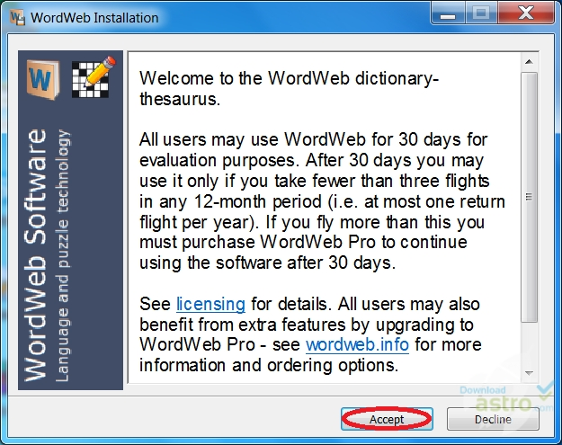 WordWeb - latest version 2019 free download