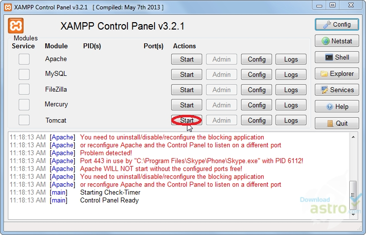 xampp latest version free download for windows 8 32 bit